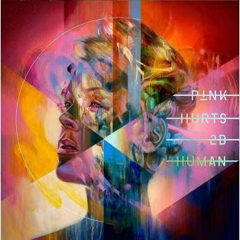 "© Pochette d'album ""Hurts 2B Human"" P!nk - RCA Group"