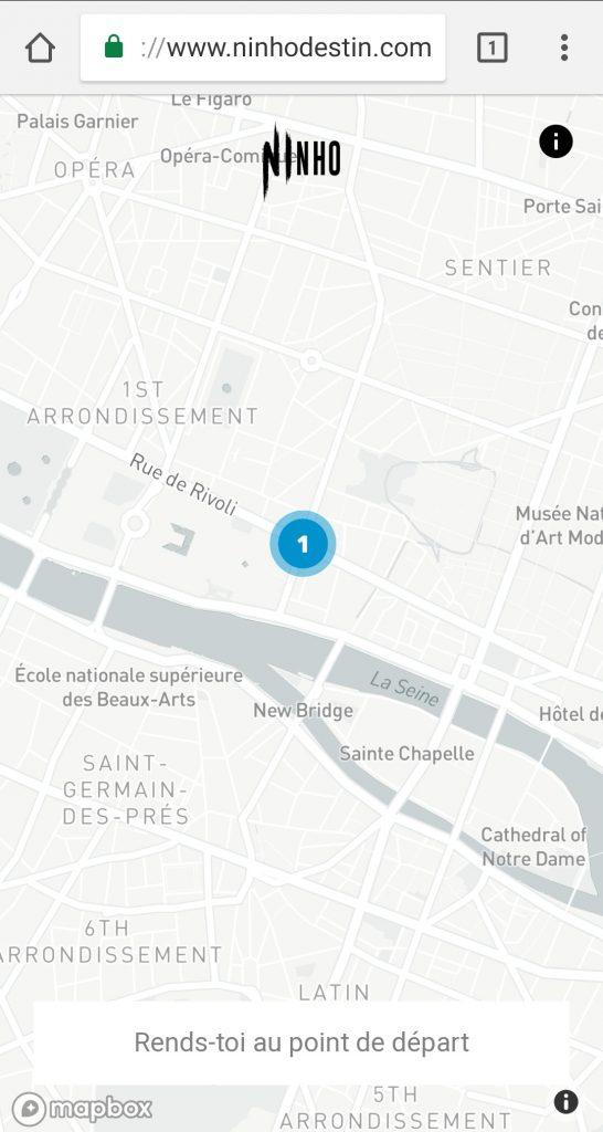 Screenshot de la Map - Concours Ninho