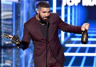 Drake aux Billboard Music Awards 2019