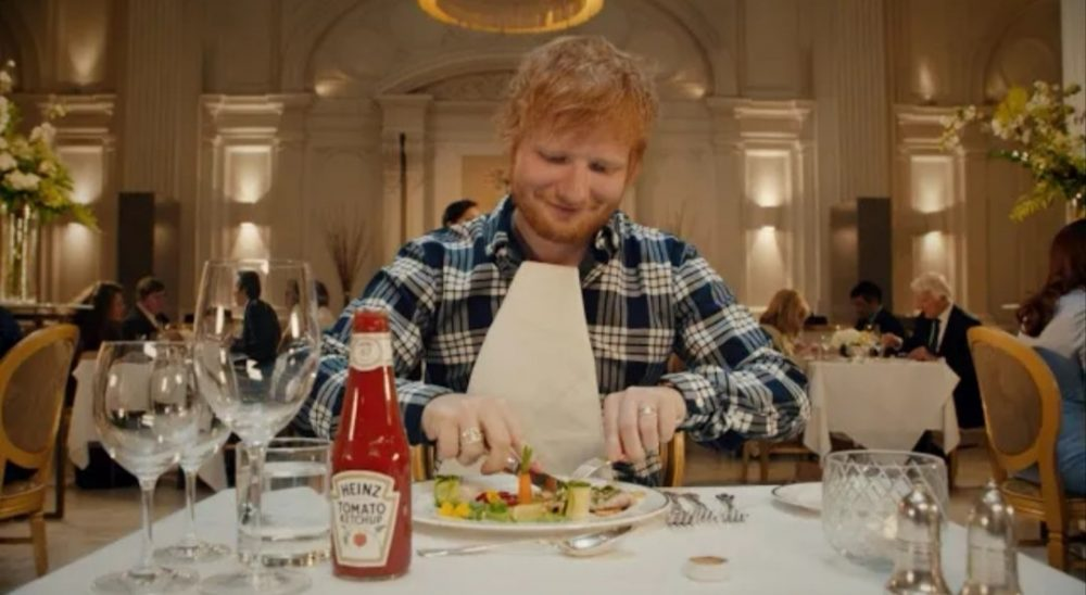 Ed Sheeran x Heinz Ad