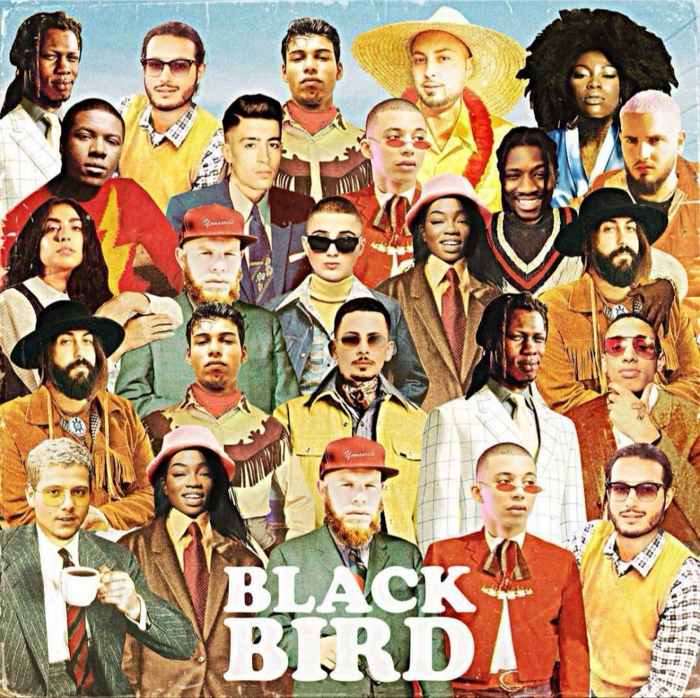 """Pochette """"BLACKBIRD"""" de Dj Elite"""