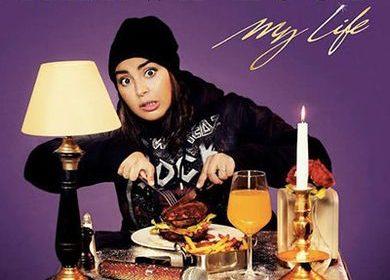"Pochette d'album ""My Life"" de Marwa Loud"