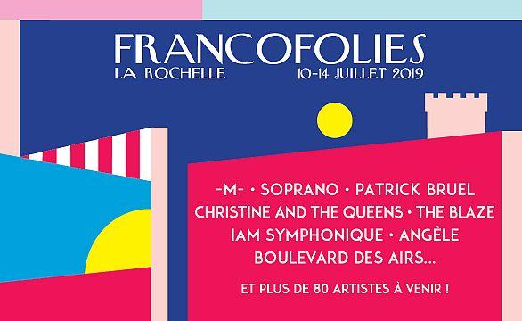 Affiche des Francofolies 2019